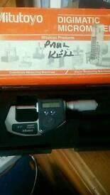 Didital micrometer
