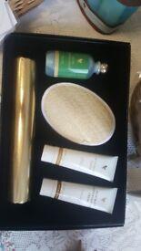 Toning wrap gift set