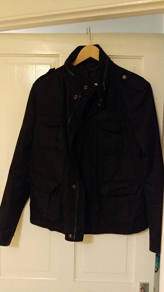 653dd28c6e3 Men s zara casual jacket black medium