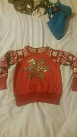 Age 7 years christmas jumper.