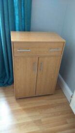 light oak cupboard