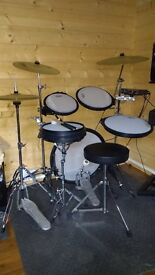 Arbiter flats accoustic/electronic drum kit for sale.