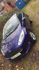 Ford Fiesta Zetec 1.25 82ps 3 door Petrol Manual Deep Impact Blue Metalic