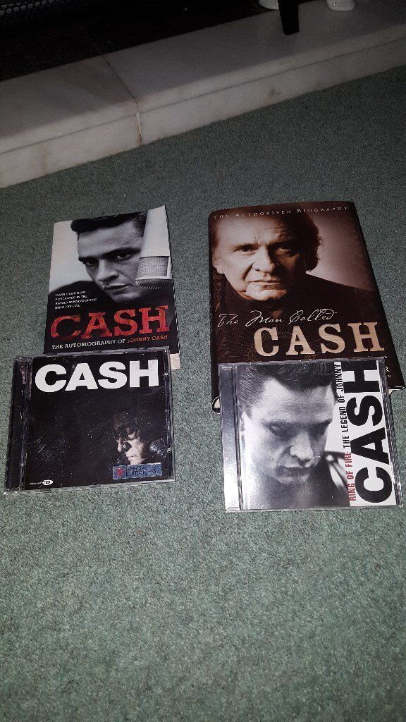 Johnny Cash books x2 offdvd and cdin Carrickfergus, County AntrimGumtree - • I have Johnny Cash books x2 off Cd and walk the line dvd ( not in picture) All in excellent condition. £12