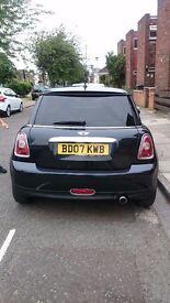 Mini One 1.4 2007 Black £2500