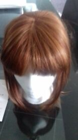 wig bob style never been worn still has tags on