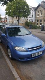 Chevrolet Lacetti, 2006, 1,6 lt, 5 door, 54000 miles, MOT 29/09/18 manual