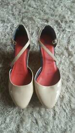 Next wide fit size 6.5 wedge heels