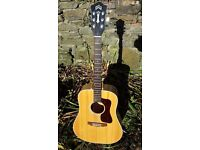 Guild G37bld 1978 USA acoustic guitar - Gibson pick