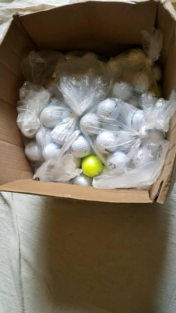 Golf balls 200+