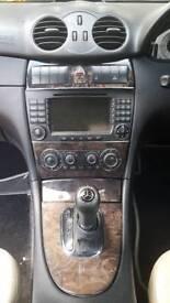Mercedes CLK 320 CD1 V6 sat nav heated leather