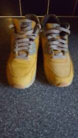 Genuine nike air max 90 Timberland wheat suede