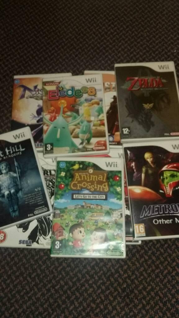 Nintendo Wii Games Wii U ZELDA Animal Crossing