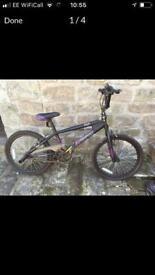 BMX stunt bike. Hardly used!