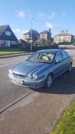 Genuine low mileage Jaguar X type.