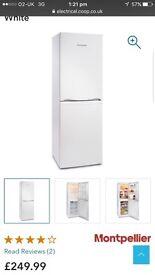 New boxed unopened fridge freezer