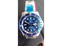 Blue Submariner Rolex