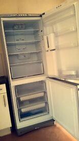 large indesit fridge freezer with water dispenser