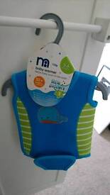 Mothercare little paddlers baby swim warmer