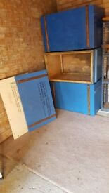 3 x Wooden Packing Cases