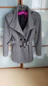 Jane Norman belted coat size 12