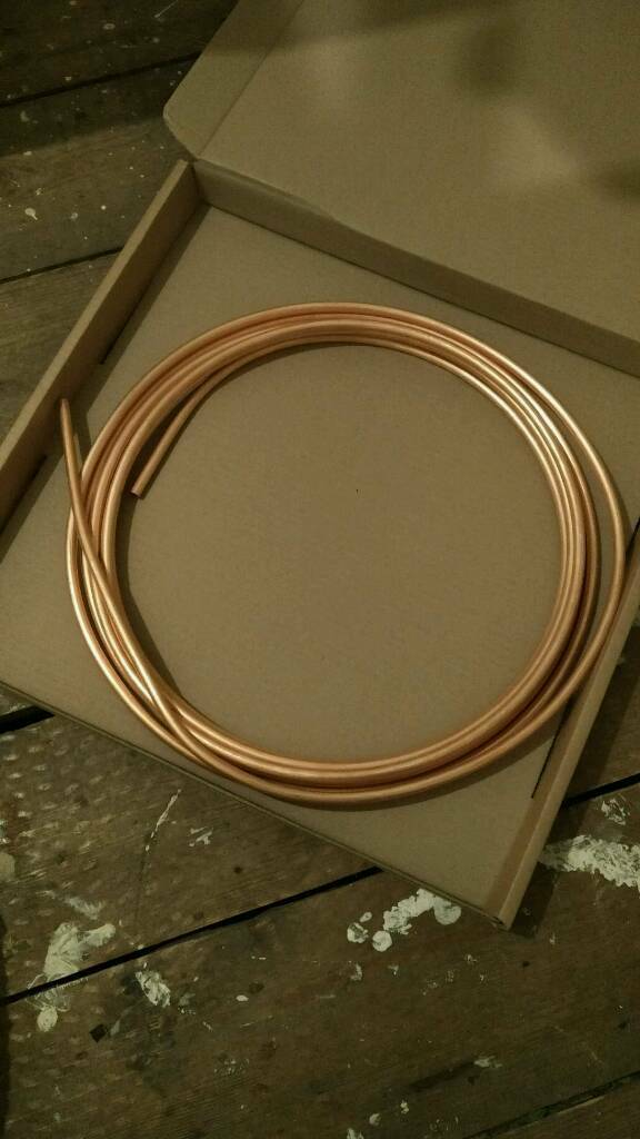 8mm copper pipe 8m length