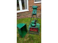Suffolk petrol lawn mower
