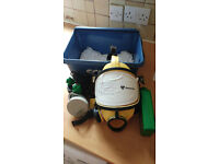 RPE FULL FACE ASBESTOS MASK VERY GOOD CONDITION