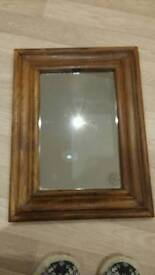 Indian hardwood mirror