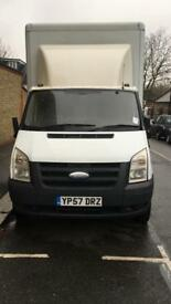 Ford transit Luton van with tail lift MWB van 57 plate 12 month MOT 152k mileage