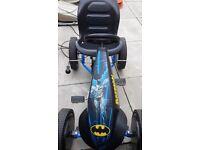 Outdoor batman go kart for sale.