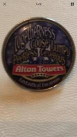Alton Towers Pin Badge 2017 Limited Editions Staff Fantastical Escapism Merlin