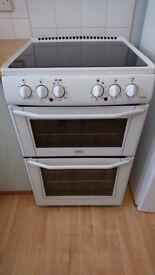 Belling E552 Enfield Electric Freestanding Double Oven and Grill with Ceramic Hob