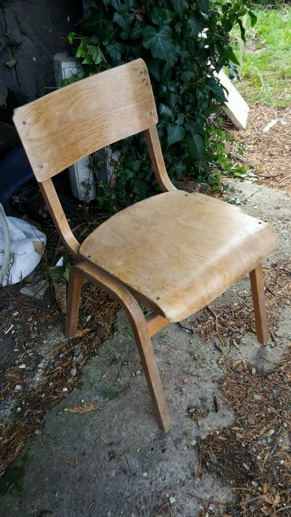 Chair - School chairs - Chairs - vintage chairs- Delivery available