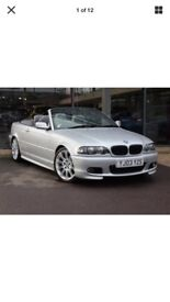 2003 bmw325i convertable (AUTO low miles)