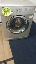 BEKO 8KG LOAD 1200 SPIN WASHING MACHINE IN SILVER