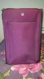 Large Purple Suitcase