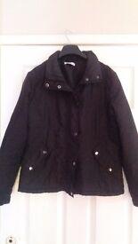 New Ladies QS Dark Brown Jacket size 12