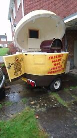 Jacket potato trailer-fully ready to go! Perfect business opportunity. UNIQUE-only one made