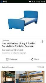 Children's ikea bed