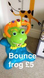 Frog bounce