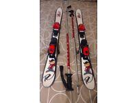Ski's twin tip Rossignol 123 CM