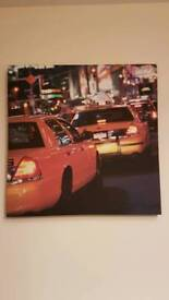 New York Taxi Canvas