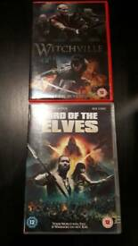 X2 DVDS Lord of the Elves & Witchville