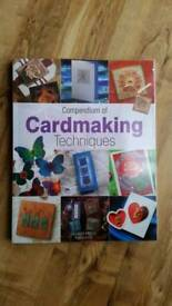 Card Making Crafts Book NEW