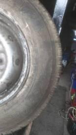 Transit tyre 185 14rc