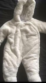0-3 months padded coat