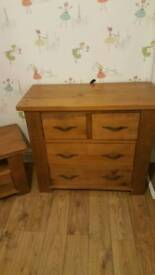 """Next hartford solid pine 2"""" chest of drawers"""