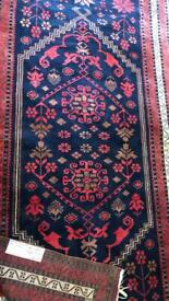 Beautiful handmade wool rug
