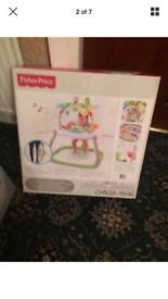 Fisher price jumperoo space saver rainforest